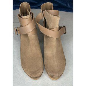 Free People Bungalow Clog Boots Size 8 new